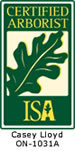International Society of Arboriculture Certified Arborist
